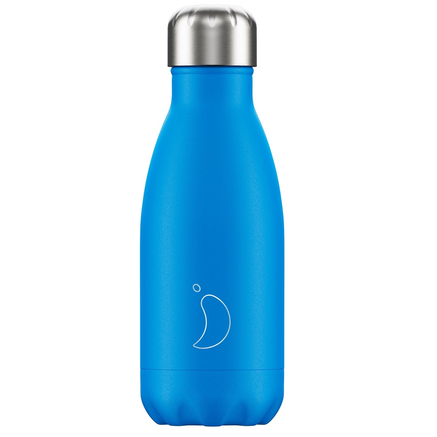 CHILLYS BOTTLES Μπουκάλι- Θερμός, Neon Blue - 260ml