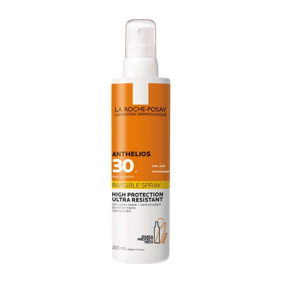 LA ROCHE POSAY Anthelios Invisible spray SPF30, Αντηλιακό Σπρέι - 200ml