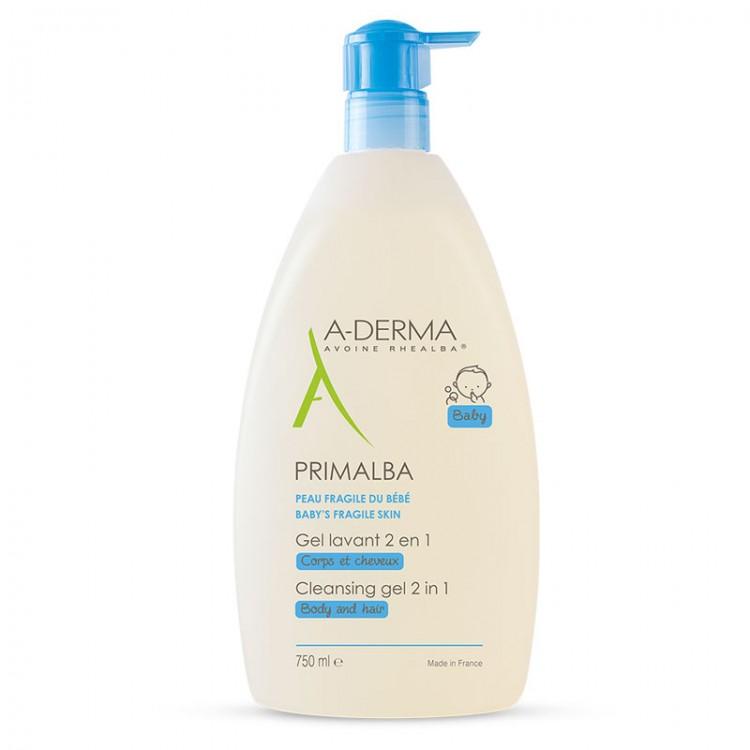 A-DERMA Primalba Baby Gel Lavant Douceur 750ml