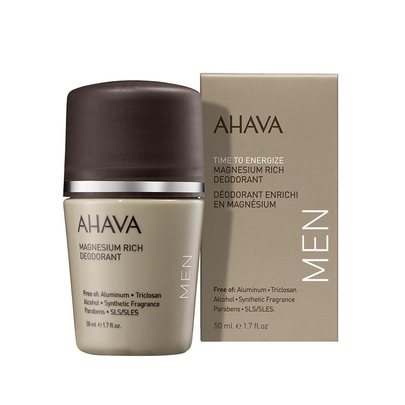 AHAVA Roll-On Mineral Deodorant for Men - 50ml