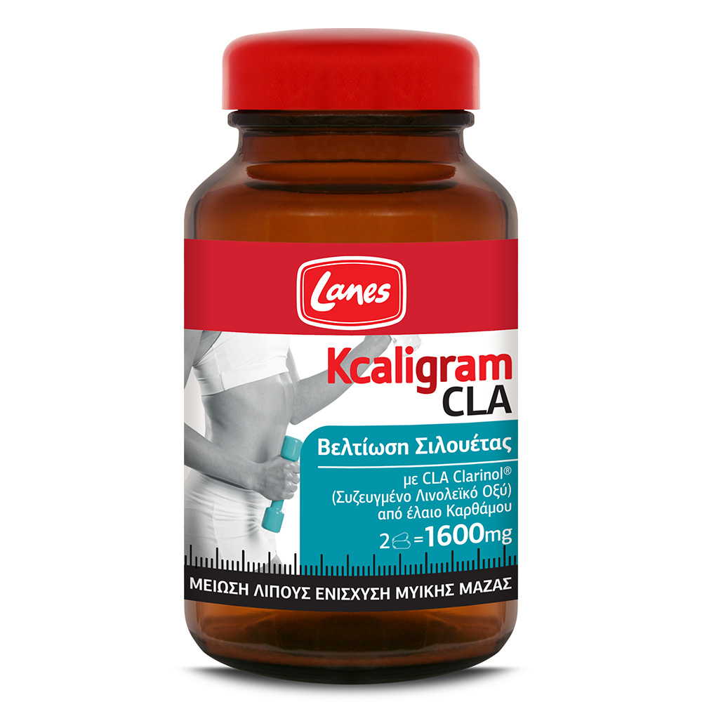 LANES Kcaligram CLA 1600mg - 60caps