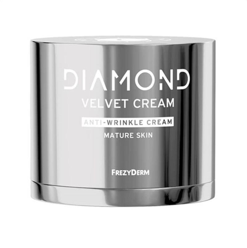 FREZYDERM Diamond Velvet Anti- Wrinkle Cream, Αντιγηραντική Κρέμα Προσώπου για Ώριμο Δέρμα - 50ml