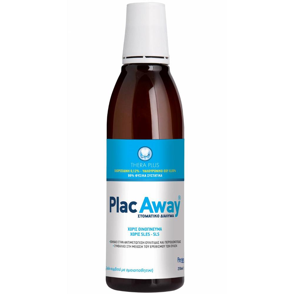 OMEGA PHARMA PlacAway Thera Plus 0,12% Στοματικό διαλυμα 250ml