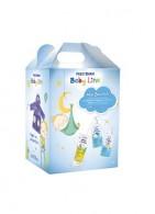 Frezyderm Baby Line New Born Kit Boy Βρεφικό Πακέτο Προσφοράς Με Το Baby Bath 300ml, Baby Shampoo 300ml & Baby Cream 175ml Με Δώρο Βρεφικό Μπουρνούζι Για Αγοράκια