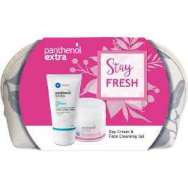 PANTHENOL EXTRA Stay Fresh Extra Day Cream SPF15 50ml & Face Cleansing Gel 150ml