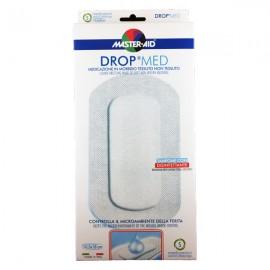 MASTER AID Drop Med Αντικολλητικές Aυτοκόλλητες Γάζες 10,5X18 5τμχ