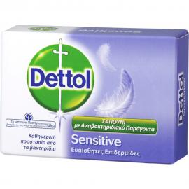 DETTOL Πλάκα Σαπουνιού Sensitive 100gr