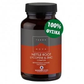 TerraNova Nettle Root, Lycopene & Zinc Complex 100caps