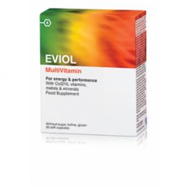 EVIOL MULTIVITAMIN Πολυβιταμίνη 30 Κάψουλες