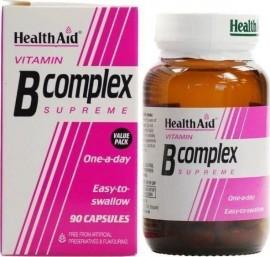 HEALTH AID B Complex Supreme Οικονομική Συσκευασία 90Caps