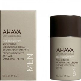 AHAVA Men Age Control Moisturizing Cream Spf15 50ml