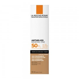 LA ROCHE POSAY Anthelios Mineral One SPF50+ (4 -brown), Αντηλιακή Κρέμα με Χρώμα - 30ml