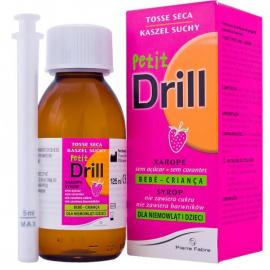 PIERRE FABRE Petit Drill - Βρεφικό Σιρόπι για τον Ξηρό Βήχα 125ml