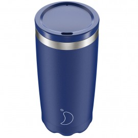 CHILLY'S BOTTLES Coffee Cup, Κούπα- Θερμός, Matte Blue - 500ml