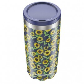 CHILLY'S BOTTLES Coffee Cup, Κούπα- Θερμός, Floral Sunflower - 500ml