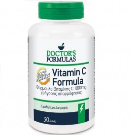 DOCTOR΄S FORMULAS Vitamin C Fast Action 1000mg - 30tabs