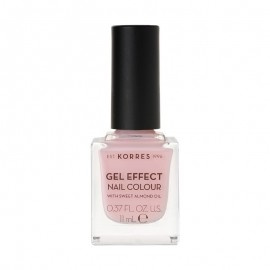 KORRES Gel Effect Nail Colour 05 Candy Pink Με Αμυγδαλέλαιο 11ml