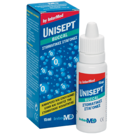 UNISEPT Buccal Στοματικές Σταγόνες 15ml