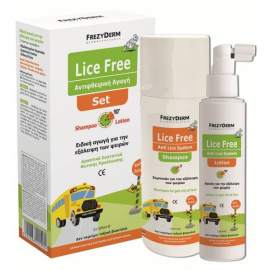 FREZYDERM Lice Free Set - Shampoo & Lotion 2 x 125ml