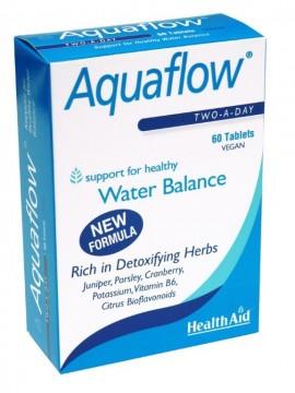 HEALTH AID Aquaflow, Αποβολή Τοξινών και Επιπλέον Υγρών - 60tabs
