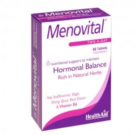 HEALTH AID Menovital, Ειδικός Συνδυασμός για την Εμμηνόπαυση 60 ταμπλ.