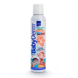 INTERMED  BabyDerm Kids Invisible Sunscreen Spray SPF50+, 200ml