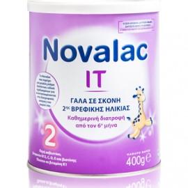 NOVALAC IT 2, Γάλα 2ης Βρεφικής Ηλικίας 6-12o Μήνα - 400γρ