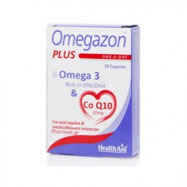 HEALTH AID Omegazon Plus, Ω3 & CoQ10 - 30caps