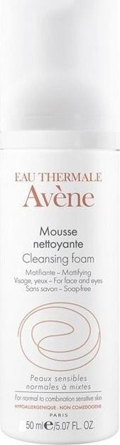 AVENE Mousse Nettoyante 50ml