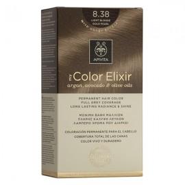 APIVITA My Color Elixir, Βαφή Μαλλιών No 8.38 - Ξανθό Ανοιχτό Μελί Περλέ