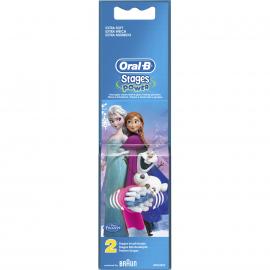 ORAL B Stages Power Ανταλλακτικές Κεφαλές Frozen - 2τμχ