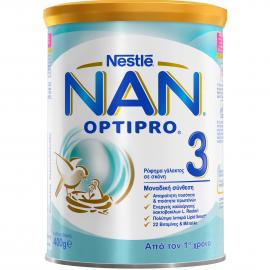 NESTLE- NAN 3 OptiPro Γάλα Σε Σκόνη  400gr