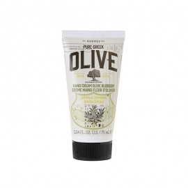 KORRES Pure Greek Olive Ενυδατική Κρέμα Χεριών με Άνθη Ελιάς 75ml