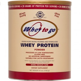 SOLGAR  Whey To Go Protein Powder, Chocolate - 1162gr