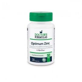 DOCTOR'S FORMULAS Optimum Zinc, Ψευδάργυρος, Βιταμίνη C & Χαλκός - 30caps