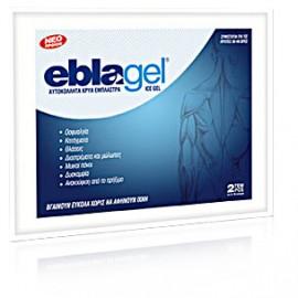 EUROMED Eblagel Ice Gel - Αυτοκόλλητα Κρύα Έμπλαστρα 2τμχ