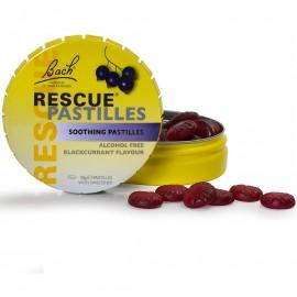 BACH Rescue Pastilles,Παστίλιες με Μίγμα Ανθοϊαμάτων, γευση Φραγκοστάφυλλο - 50gr