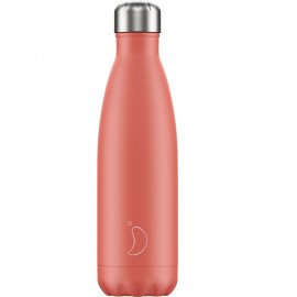 CHILLY'S BOTTLES Μπουκάλι- Θερμός, Pastel Coral - 500ml