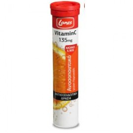 LANES Vitamin C ΠΟΡΤΟΚΑΛΙ 135 mg 20tabs