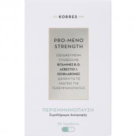 KORRES Pro-Meno Strength - Συμπλήρωμα Διατροφής για τις ανάγκες της περιεμμηνόπαυσης 30tabs
