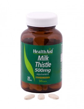 HEALTH AID Milk Thistle 500mg - 30tabs