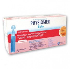 PHYSIOMER Baby Αμπούλες 30 x 5ml