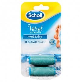 SCHOLL Velvet Smooth Ανταλλακτικά Regular Λίμας Wet & Dry 2τμχ