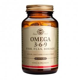 SOLGAR Omega 3-6-9, - 60softgels
