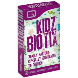 Quest Kidzbiotix 30 μασώμενα δισκία Με Γεύση Φραγκοστάφυλλο