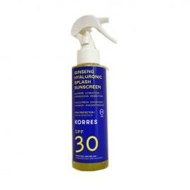 KORRES Ginseng Hyaluronic Αντηλιακό Spray, Πρόσωπο & Σώμα SPF30 - 150ml