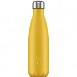 CHILLY'S BOTTLES Μπουκάλι- Θερμός, Matte Burnt Yellow - 500ml