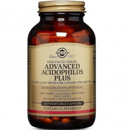 SOLGAR Advanced Acidophilus Plus - 120veg.caps