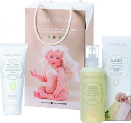 ANNE  GEDDES Bouquet Shampoo and Body Bath 250ml & Soothing Face and Body Cream 100ml