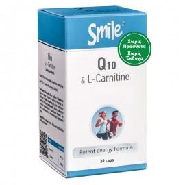 AM HEALTH Coenzyme Q10 & L-Carnitine Smile - 30caps